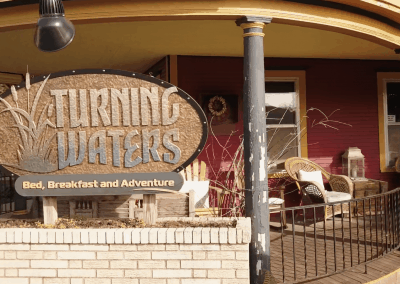 photo of the exterior front of Turning waters